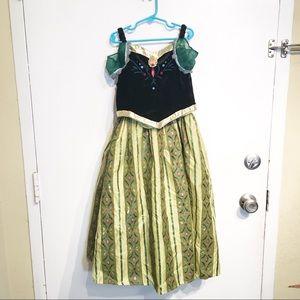 Disney Parks Frozen Anna Princess Costume Dress